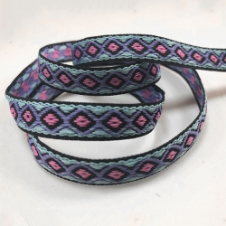 Small jacquard belt